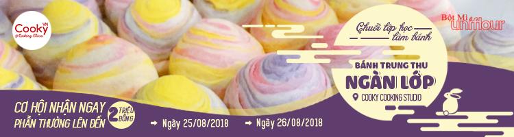 Học Làm Bánh Trung Thu Ngàn Lớp - HCM - Cooky.vn